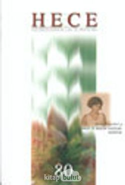 Sayı:80 Ağustos 2003-Hece Aylık Edebiyat Dergisi