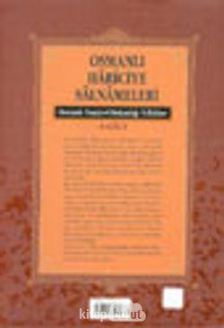 Osmanlı Hariciye Salnameleri Osmanlı Dışişleri Bakanlığı Yıllıkları 4 Cilt